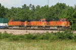 BNSF 4021 BNSF 4646 BNSF 5042