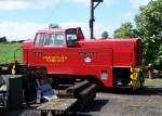 Esso Plymouth works shunter on the East Somerset Railway