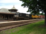 NS 9188 WB mixed freight on the Jeff City Sub