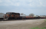 SOO 4512 and ballast train