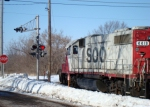 SOO 4419 approaching County Highway DM