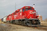 CP 2306 heads up the G64 again, southbound into the yard