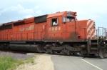 CP 5964 crossing CV