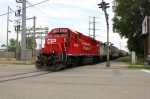 CP 4609 shoves back into the yard