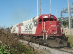 SOO 4426 leads today's Portage to Madison turn