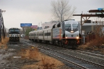 New Jersey Transit 4006 passing the circus train