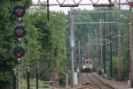 NJT 1321 rounds the curve