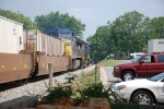 CSX Intermodal with CSX 7759 in the lead.