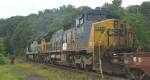 CSX 7678 was trailing power on Q-164