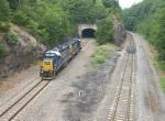 CSX 2717 & 2793 heads home after local Hudson Line work