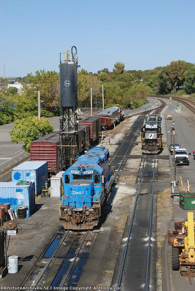 Conrail, NS, CSX, and NYS&W