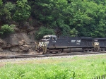 A WB Pig train at Horseshoe Curve
