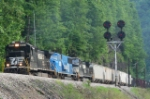 NS EB freight