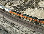 BNSF 975 and 4971