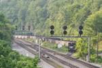 Coal train at the loader