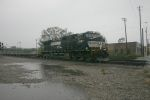 NS 9397 in the rain