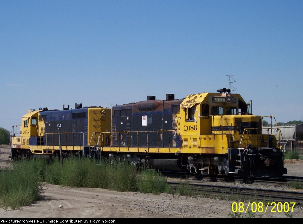 ex ATSF 2086 (GP7u), ex WTJR, now INPR