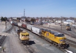 UP Nampa Yard on an April afternoon