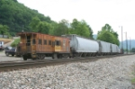 CSX local parked for the day