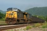 CSX WB coal train