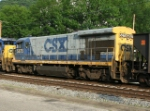 CSX 5875 helping with a coal train or dead in tow?