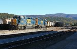 CSX local getting ready to head out