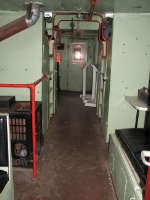 Interior Shot of NKP Caboose 770