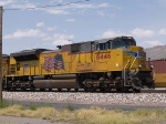 UP 8446 leads an EB doublestack at 11:35am