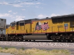UP 3861 #3 power in an EB doublestack at 11:35am