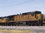 UP 9167 #3 power in a WB doublestack at 12:12pm
