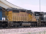UP 2765 #3 power in a WB manifest at 1:07pm