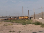 UP 6583 leads an EB empty coal train at 7:35am