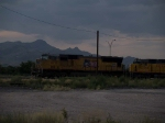 UP 4771 leads a WB manifest at 6:21pm