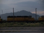 UP 3412 #3 power in a WB manifest at 6:21pm