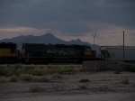 UP 8777 #5 power in a WB manifest at 6:21pm