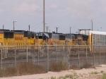 UP 2216 #3 power in MEWTU (Englewood, TX - Tucson, AZ) at 4:14pm