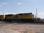 UP 8470 leads a WB doublestack at 3:18pm