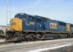 CSX 4589 SD70AC Spirit of Nashville
