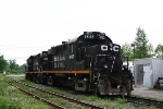 Train 521-OCR 1842,1815  on shop track @ Vanleek-Hill Ontario