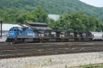 NS WB freight power