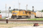 Westbound empty produce train from NY State rolls through town