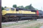 Far away from home turf, NYSW SD70M 4050 rolls through on an I&O train