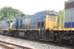 One of CSX's MP15AC's makes an appearance