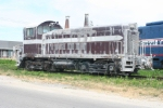"""SW1200 of unknown heritage, lettered """"WAER 216"""" on the NO&W"""