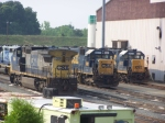 CSX 7684 - That 7 looks like it was added as an afterthought!