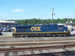 CSX 5452 Roster Shot on a Sunny Day