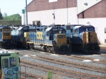 CSX 4447 and 4721