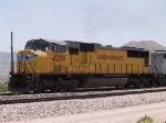 UP 4259 leads a WB manifest at 12:28pm