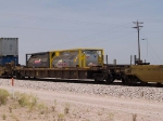 DTTX 454063 in an EB doublestack at 12:30pm