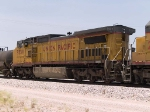 UP 9539 #4 power in an EB manifest at 1:02pm